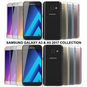 Samsung Galaxy A3&A5 2017コレクション 3d model