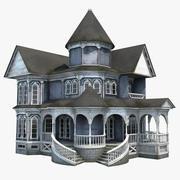 Old Abandoned House 3d model