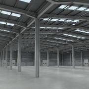 Large Warehouse 3d model