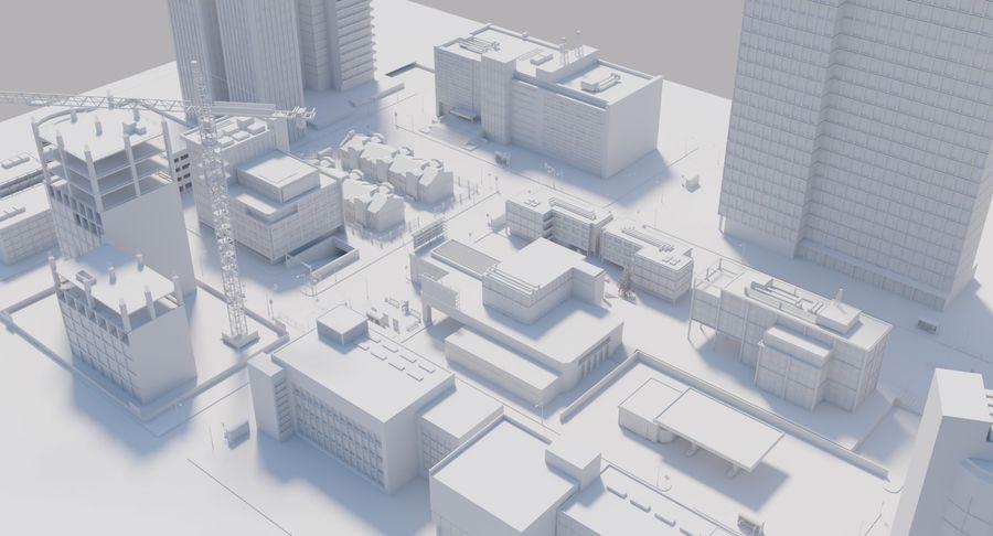 Paisaje de la ciudad royalty-free modelo 3d - Preview no. 15