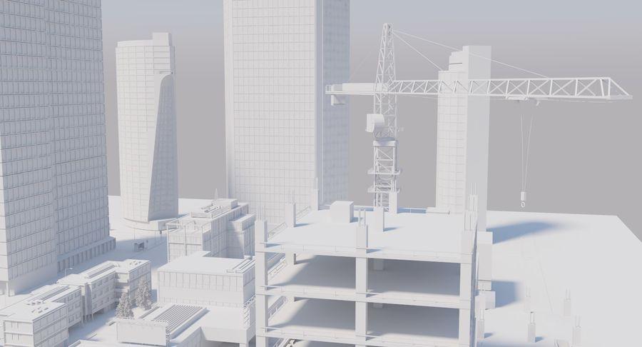 Paisaje de la ciudad royalty-free modelo 3d - Preview no. 17