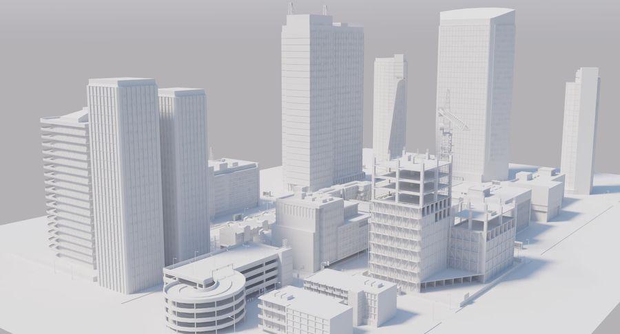 Paisaje de la ciudad royalty-free modelo 3d - Preview no. 13