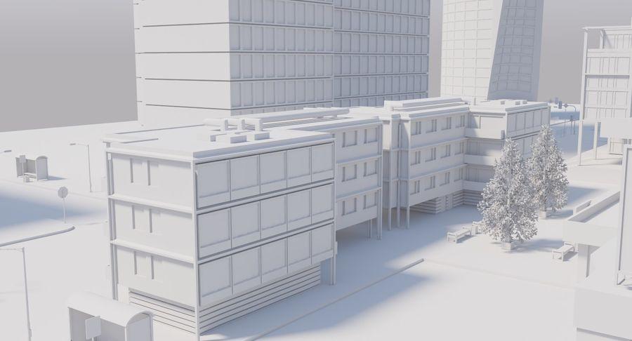 Paisaje de la ciudad royalty-free modelo 3d - Preview no. 19