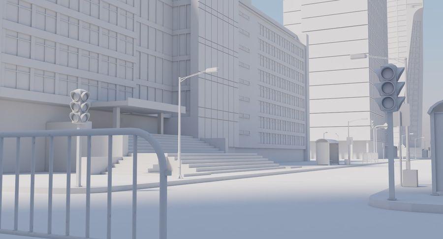 Paisaje de la ciudad royalty-free modelo 3d - Preview no. 20