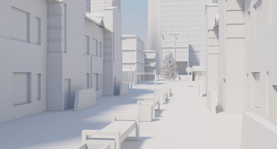 Paisaje de la ciudad royalty-free modelo 3d - Preview no. 5