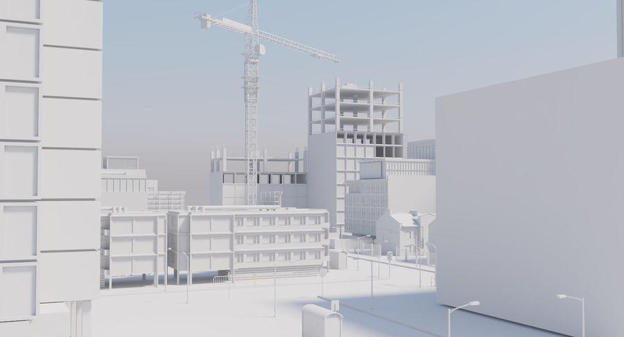 Paisaje de la ciudad royalty-free modelo 3d - Preview no. 10