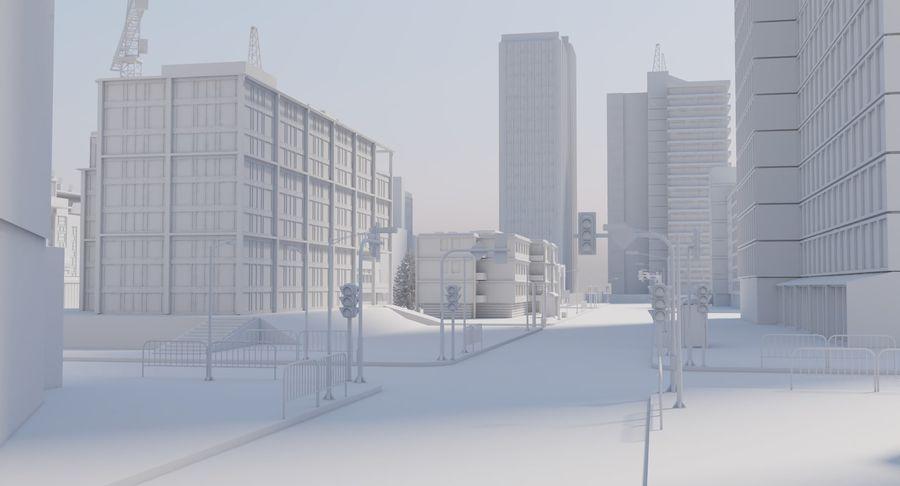 Paisaje de la ciudad royalty-free modelo 3d - Preview no. 12