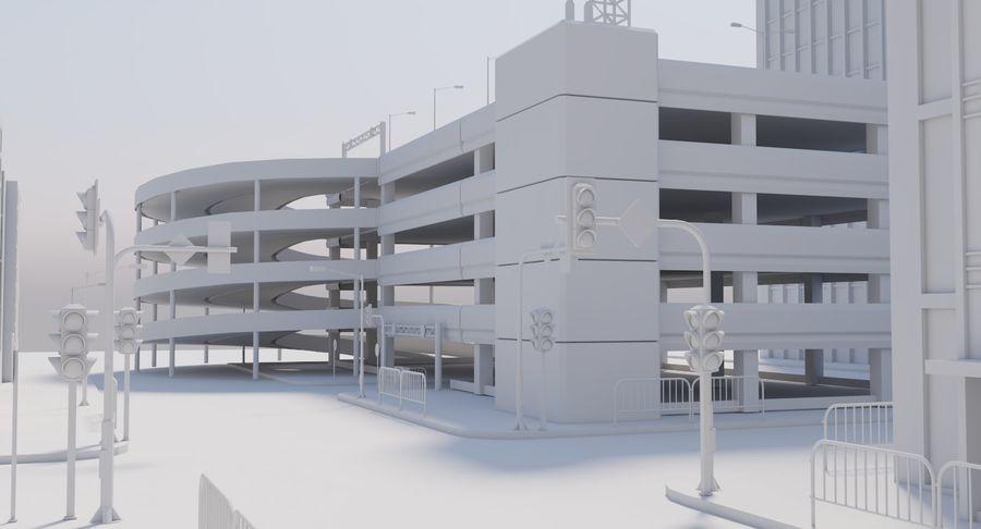 Paisaje de la ciudad royalty-free modelo 3d - Preview no. 16