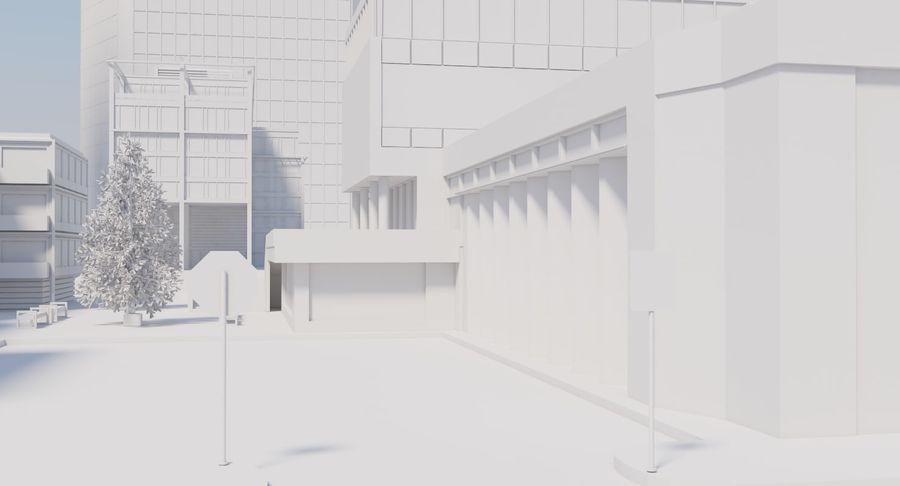 Paisaje de la ciudad royalty-free modelo 3d - Preview no. 6
