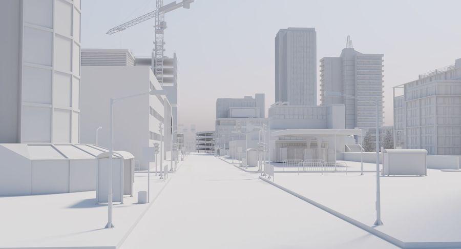 Paisaje de la ciudad royalty-free modelo 3d - Preview no. 11