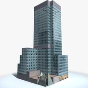 Manhattan Lexington Avenue Building LOW_POLY 3d model