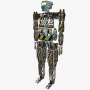 robô mecânico 3d model