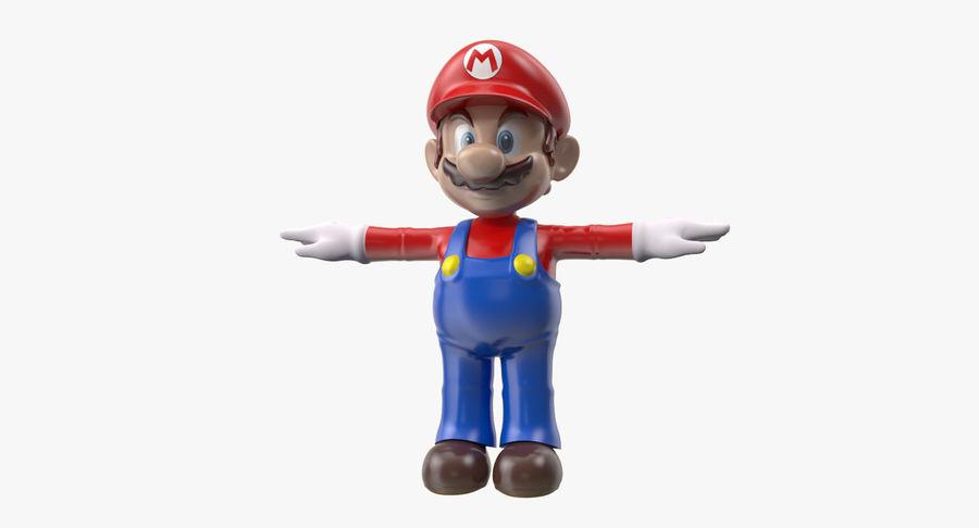 Mario Bros royalty-free 3d model - Preview no. 1