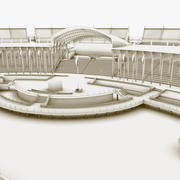 低聚环境 3d model