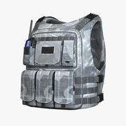 Bullet Vest Winter HD 3d model