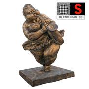 太いダンサー 3d model