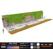 Stedelijk waterkanaal 16K 3d model