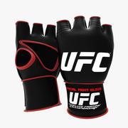 Перчатки UFC 3d model