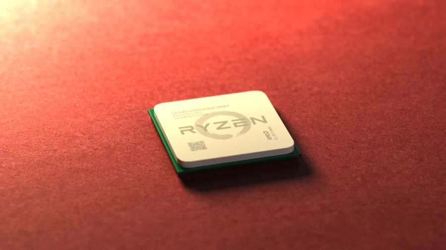 AMD Ryzen royalty-free 3d model - Preview no. 3
