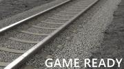 Eisenbahn und Boden 3d model