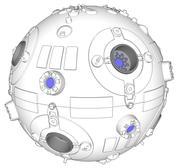 Jedi training Remote 3d model