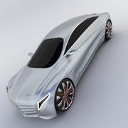 Мерседес Бенц 3d model