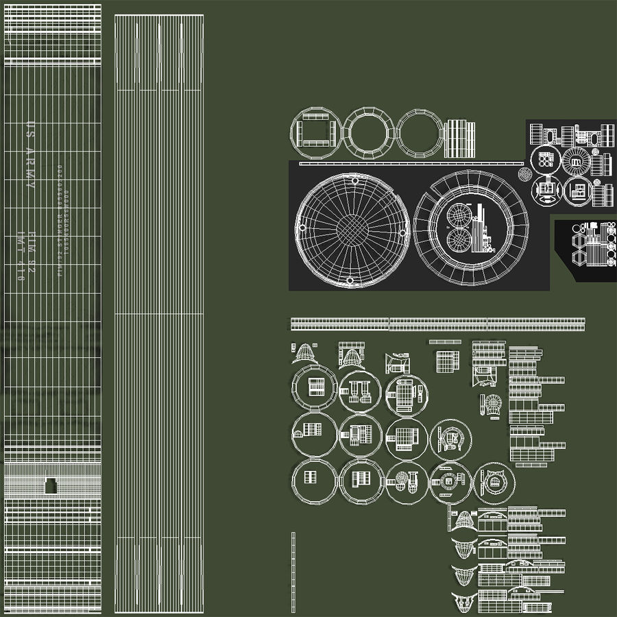 FIM-92 Stinger 3D Model royalty-free 3d model - Preview no. 13