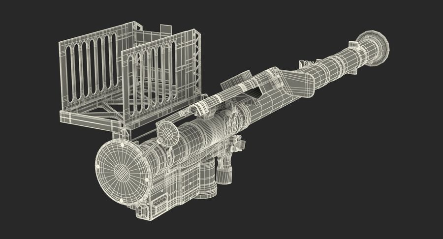 FIM-92 Stinger 3D Model royalty-free 3d model - Preview no. 21