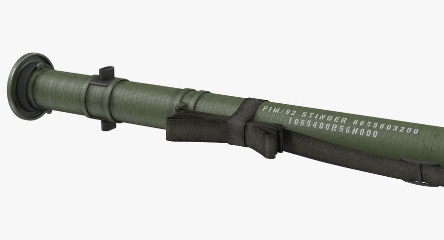 FIM-92 Stinger 3D Model royalty-free 3d model - Preview no. 7