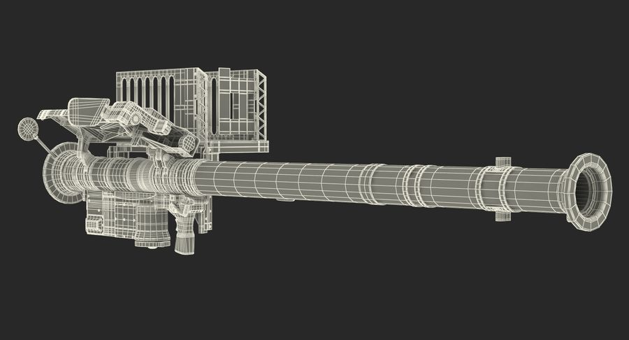 FIM-92 Stinger 3D Model royalty-free 3d model - Preview no. 20