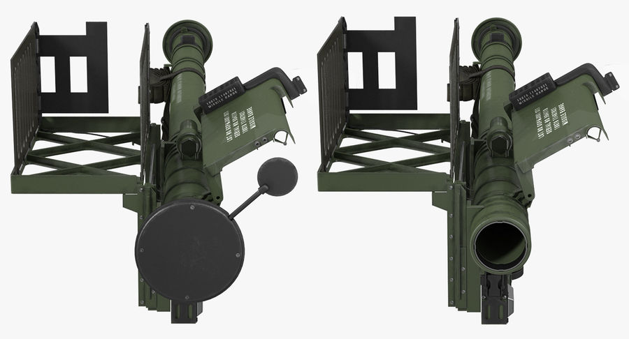 FIM-92 Stinger Rigged 3D Model royalty-free 3d model - Preview no. 25