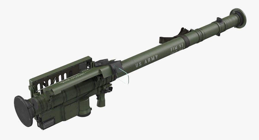 FIM-92 Stinger Rigged 3D Model royalty-free 3d model - Preview no. 15