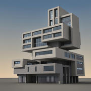 109号现代建筑 3d model