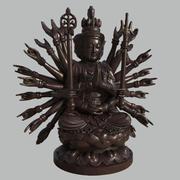 Thousand-hand Bodhisattva 3d model