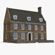 English House Old 3d model