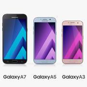 Samsung Galaxy A3 A5 A7 (2017) 3d model
