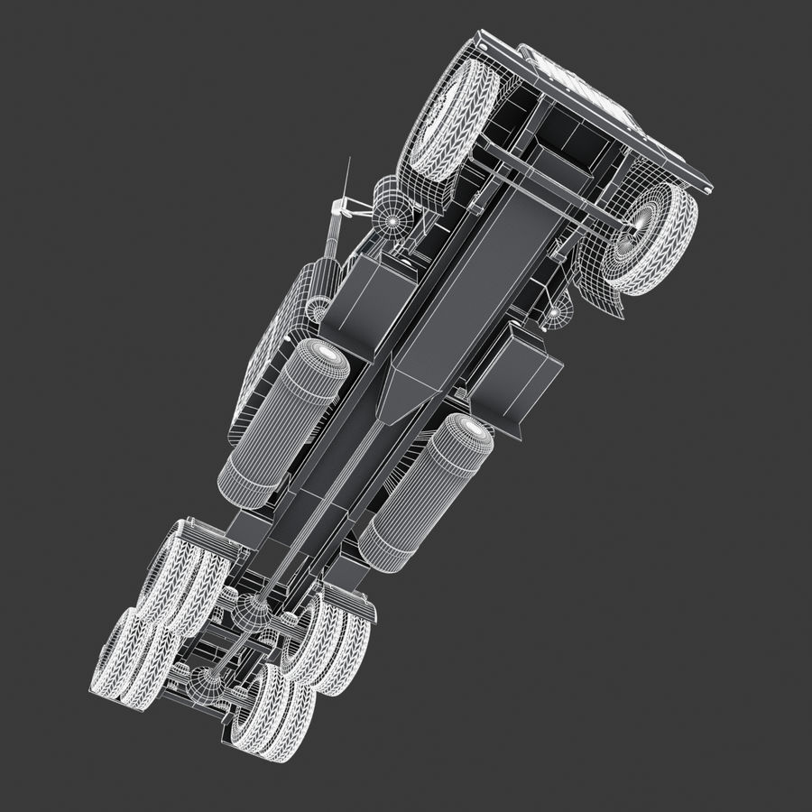 Автоцистерна V1 royalty-free 3d model - Preview no. 34