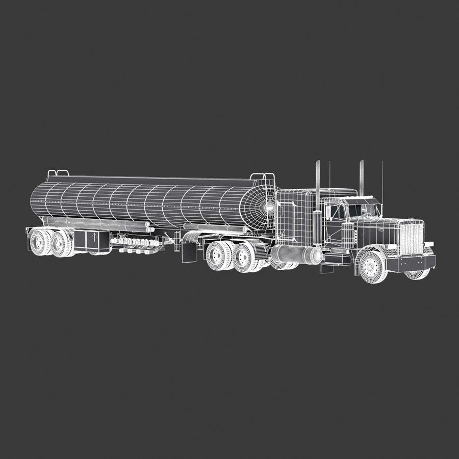 Автоцистерна V1 royalty-free 3d model - Preview no. 15
