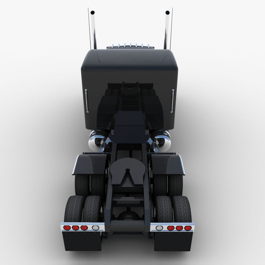 タンカートラックV1 royalty-free 3d model - Preview no. 35