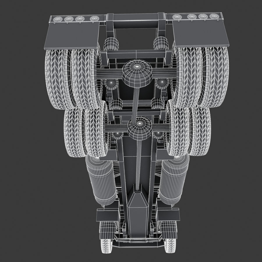 Autocisterna V1 royalty-free 3d model - Preview no. 44