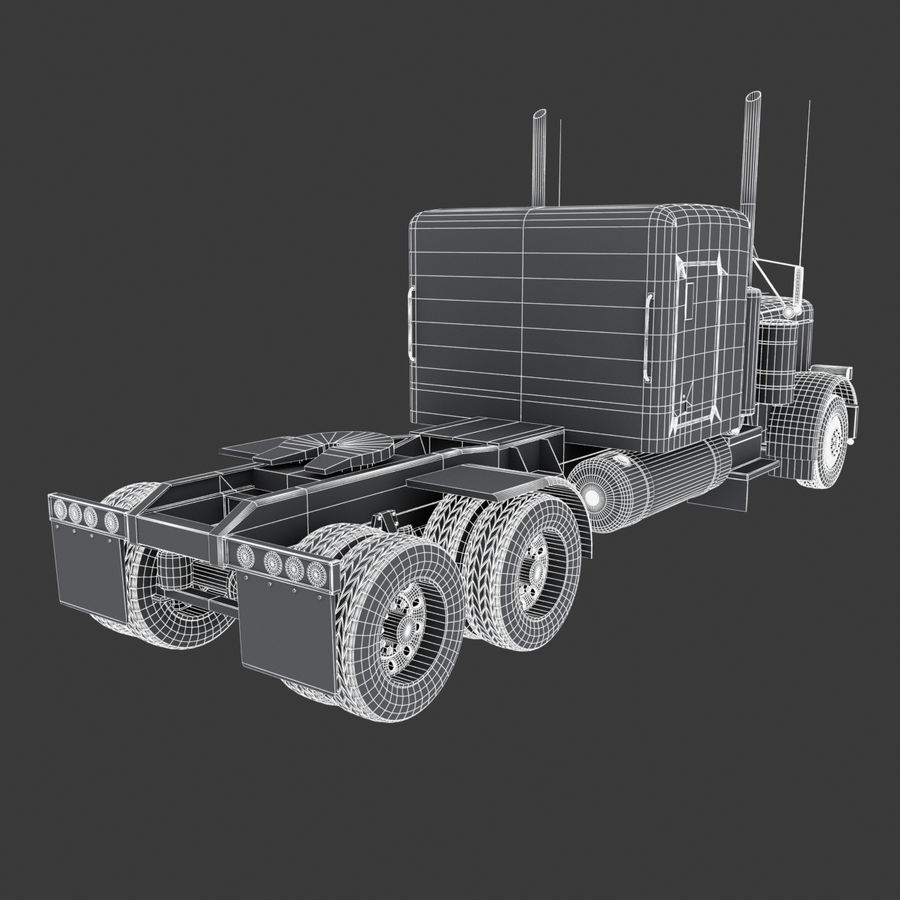 Автоцистерна V1 royalty-free 3d model - Preview no. 38