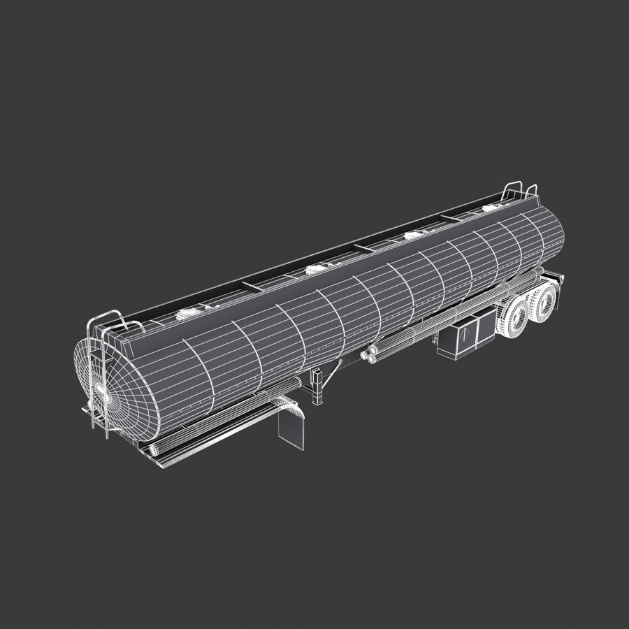 Автоцистерна V1 royalty-free 3d model - Preview no. 19