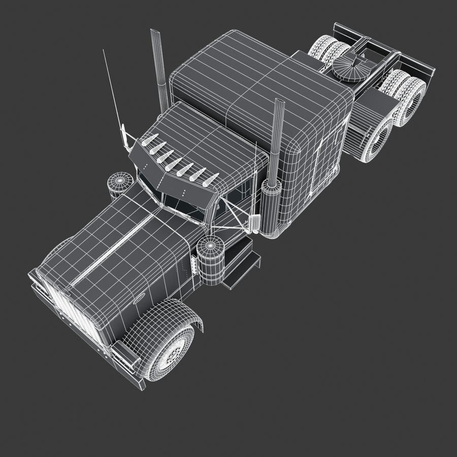 Autocisterna V1 royalty-free 3d model - Preview no. 26