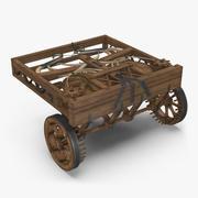Leonardo Da Vinci Automobile 3d model