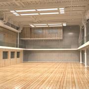 工业办公空间 3d model