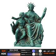 自由の女神 3d model