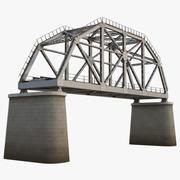 Ponte ferroviario 3d model