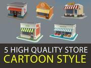 3D Shop Collection V3 3d model