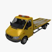 Mercedes Sprinter Tow Truck 3d model