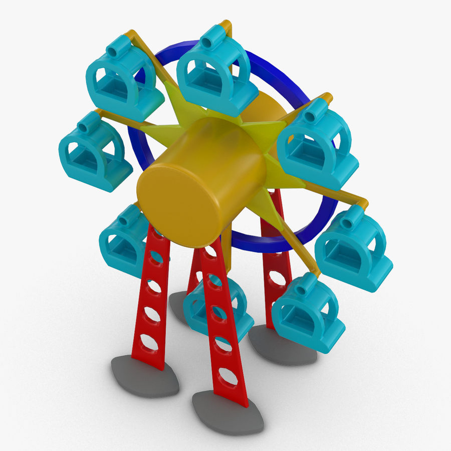 11 in 1 ( Tolo Toys Pack ) royalty-free 3d model - Preview no. 14